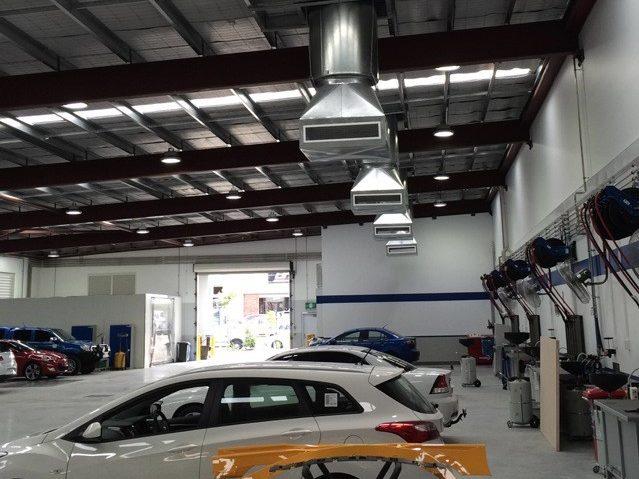 Barton Motors Wynnum Mechanical Services Project