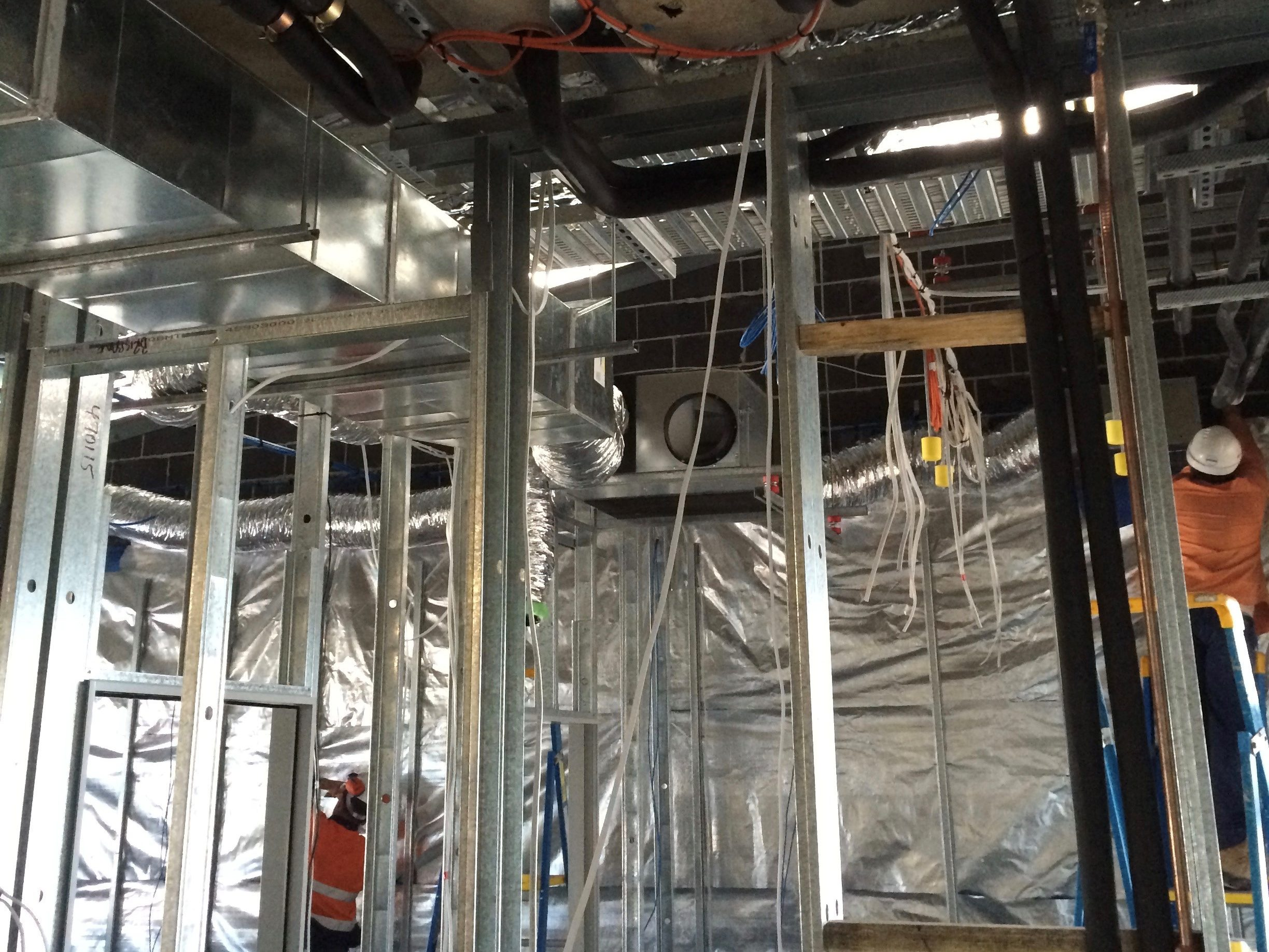 Brisbane Bayside State College Mechanical Services Project